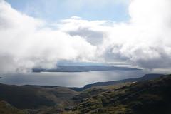 DSC_9383 (nic0704) Tags: scotland hiking walking climbing summit highlands outdoor landscape hill mountain foothill peak mountainside cairn munro mountains skye isle island cuilin cuillin blaven blà bheinn red black elgol