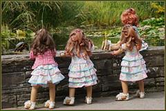 Abenteuer Seerosenteich ... (Kindergartenkinder) Tags: grugapark essen gruga park nrw kindergartenkinder annette himstedt dolls sanrike garten schildkröte annemoni milina tivi