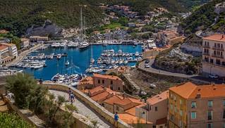 Bonifacio Harbour, Corsica