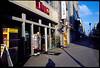 Friedrichstraße (Jerry501) Tags: friedrichstrase berlin film kodak kodake100vs e100vs nikon fm2 25mm zf2 zeiss25mmf28zf street