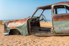 Lost car 1 (Guy Goetzinger) Tags: auto technik rosty lost car old sand rotten transport out nikon goetzinger d800 desert oldtimer afrique namibie travel voyage natinal park 2018
