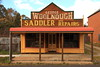 Woolnough's (Darren Schiller) Tags: abandoned australia architecture advertising building closed carcoar disused deserted empty facade history heritage newsouthwales old rural rustic smalltown shop store saddlery verandah
