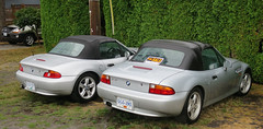 Silver BMW Z3 (D70) Tags: canon powershot s120 ƒ32 83mm 1400 160 silver bmw z3 crescentbeach britishcolumbia canada for sale