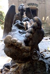 Angel, mother and child - Milan, Italy (ashabot) Tags: cemetery sad graveyard death angel mother italy italiansculpture sculpture art marblesculpture