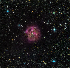 IC 5146 Cocoon Nebula (mikeyp2000) Tags: deep ic5146 astronomy stargazing astrophotography stars dso space cocoon nebula sky