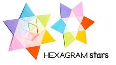 Modular Origami Hexagram Stars Tutorial ♥︎ DIY ♥︎ Paper Kawaii (paperkawaii) Tags: origami instructions paperkawaii papercraft diy how video youtube tutorial