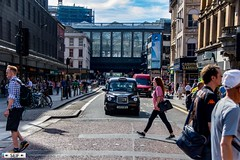 Argyle street Glasgow Scotland 2017 (seifracing) Tags: argyle street glasgow scotland 2017 a rare hot day seifracing spotting services strathclyde scottish emergency europe rescue recovery transport traffic cars cops vehicles voiture vehicle taxi