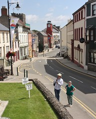 Photo of Pembroke - July 2017 - The Town from the Castle