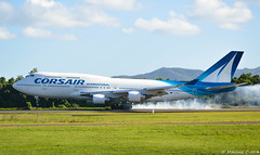 The smoke landing (Maxime C-M ✈) Tags: caribbean airplane spotting world international grass travel martinique fly arrival french paris orly picoftheday nikon nature mount amazing fun summer tropical