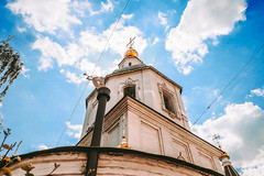 dgd446rew (olegmescheryakov) Tags: moskva moskau russland sky city street travel religion chapel church clouds cloudscape europe tower old tourism urban architecture building history town castle cathedral landmark abbey historic romanesque convent bell baroque bastion belfry romanic