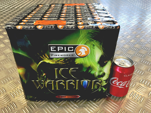 1.3G Ice Warrior 49 Shot SIB #EpicFireworks