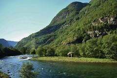 Beautiful Landscape (Eddie Crutchley) Tags: cruise2017norwayicelandireland europe norway nature beauty mountain river landscape blueskies simplysuperb greatphotographers