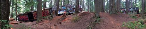 Whistler Train Wreck Panorama