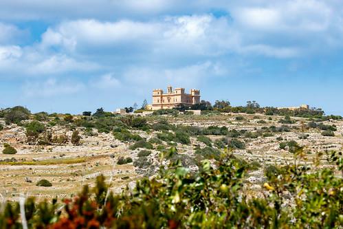 Вид на дворец Сельмун