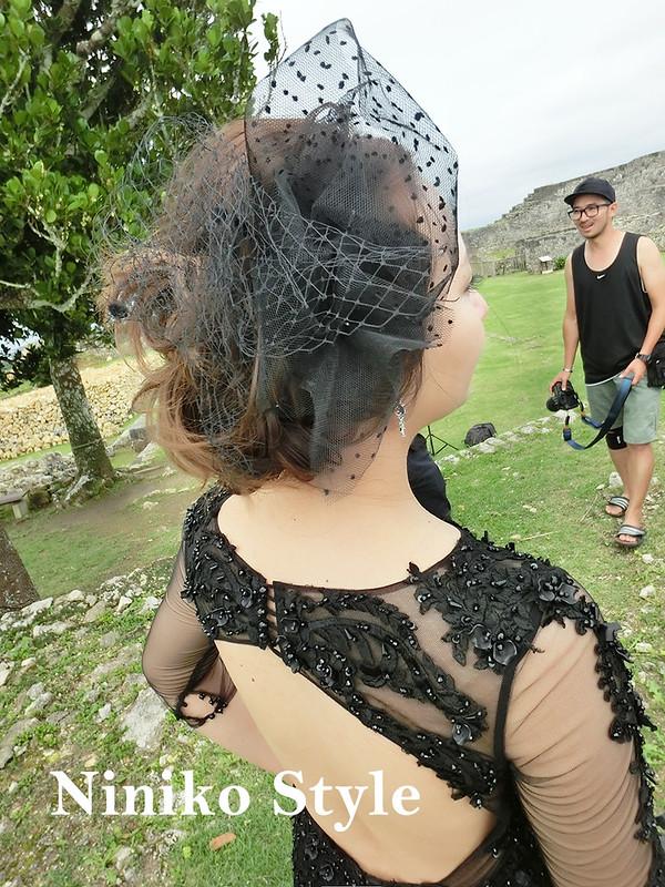 海外,日本,自助,婚紗,頭飾,花圈,簡約浪漫,沖繩,七囍 studio