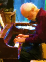 Jazz Piano (moonjazz) Tags: jazz piano music man play instrument keys hands gracefull intense melody song medocino mature artist poetic beard performer excellent soulfull listening tune active meaningful gray gifted grace mellow spirit concentration concert mind intelligent people portrait thoughtful