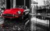 Jaguar E-Type (Eve Photography By JC Clemens) Tags: jag jaguar e type vancouver bc bw black white automotive