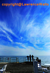 LookingOutToSea (BrightonPhotographer) Tags: east wittering isle wight blue sky sea silhouette sunny summer