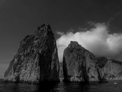 Capri Faraglioni Rock Formations | 170820-2218-jikatu