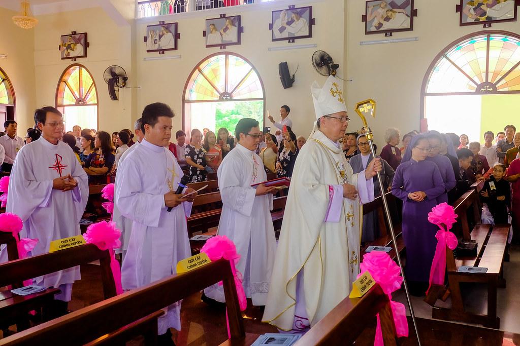 Thánh lễ tạ ơn khánh thành nhà thờ Hòa Cường – Giáo phận Đà Nẵng - Ảnh minh hoạ 10