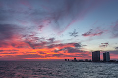 Panama City Beach Sunset (Kevin Stewart Photography) Tags: panamacitybeach panamacity pcb florida beach ocean gulfofmexico sunset