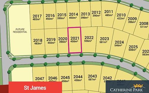 Lot 2021, Karmel Street, Oran Park NSW
