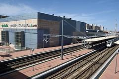 Train station in Salamanca, Spain