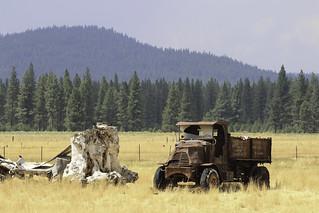 Old truck in the Sierra Valley