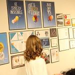 Student Jackie Schultz presenting her capstone.