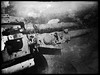 Bofors Anti-Aircraft Gun (HUNGRYGH0ST) Tags: bofors antiaircraft gun wwii ww2 faux vintage mono bw black white