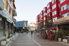 Tiranë, Albania (Tokil) Tags: tiranë albania city urban street houses colors red colored people streetphotography tirana trip travel shqipëri shqipëria nikond90