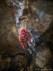 Retour au bercail ! (Fern nebula) Tags: marguareis spéléologie cave caving aven penthotal corde puits alpes maritimes paca piémont france italie flash light olympus omd