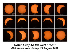 Solar Eclipse, Blairstown, New Jersey, 21 August 2017 (GAPHIKER) Tags: eclipse solar total not blairstown newjersey august 21 2017 august212017 solarfilter filter sun moon technical sequence timed sunspots ar2671 ar2672