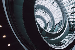 sarlacc (Panda1339) Tags: modern openhouse london ldn staircase architecture cityhall uk