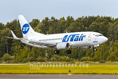Boeing 737 UTair Airlines at Pulkovo ( LED), Saint-Petersburg, Russia (The best from aviation) Tags: pulkovo aircraft avia canon airjet led air instagram ulli spotting sotters plane jet spot planes airplane planespotting anawesomeshot travel