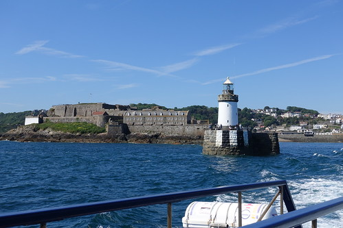 Lighthouse and Castle Breakwater, St Peter Port