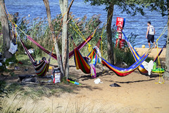 Brian_Hammock Time 1 LG_090917_2D (starg82343) Tags: sandypointstatepark maryland md 2d brianwallace outdoors outside hammocks swing water beach park trees foliage people bay chesapeakebay relaxation recreation