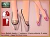 Bliensen - Foxx - Ballet Heels 1 (Plurabelle Laszlo of Bliensen + MaiTai) Tags: bdsmfetish shoes balletshoes balletheels burlesque