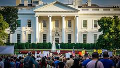 2017.08.13 Charlottesville Candlelight Vigil, Washington, DC USA 8043