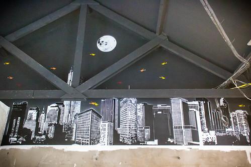 Painel para o novo New York Cafe - Batel