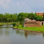 Muang Boran (Ancient Siam) open air museum in Samut Phrakan province near Bangkok, Thailand thumbnail