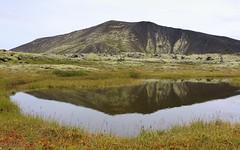 Blákollur (hó) Tags: blákollur mount mountain iceland landscape pond tarn water reflection september 2017