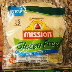 You rule, @MissionFoodsUS! Our gluten-free (celiac) daughter had her first Mission-style burrito tonight and loved it.