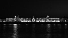 By night (@phr_photo) Tags: bordeaux france garonne night placedelabourse unesco city ville blackandwhite