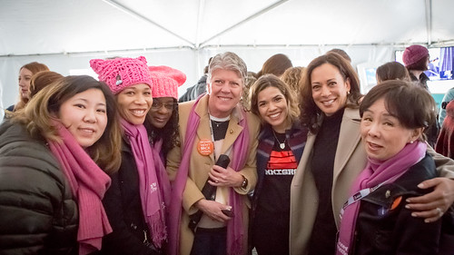 Senator Harris at the Women's March