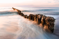 The Baltic Sea (patrykmuszik) Tags: sea seascape seaside golden hour baltic poland longexposure westernpomerania nd
