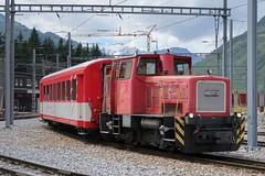 MGB - Schoema TM 2/2 4971 (Kecko) Tags: 2017 kecko switzerland swiss schweiz suisse svizzera innerschweiz zentralschweiz uri andermatt gotthard mgb matterhorngotthardbahn bahn eisenbahn railway railroad station bahnhof rangierlok shunter schoema 4971 swissphoto geotagged geo:lat=46637530 geo:lon=8594450