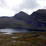 Sgurr Mor seen across Loch a' Mhadaidh thumbnail