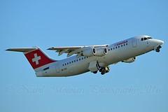 Swiss International Air Lines HB-IXO BAe 146-RJ100 cn/E3284 Withdrawn from use 28 Feb 17 @ Kaagbaan EHAM / AMS 16-10-2016 (Nabil Molinari Photography) Tags: swiss international air lines hbixo bae 146rj100 cne3284 withdrawn from use 28 feb 17 kaagbaan eham ams 16102016