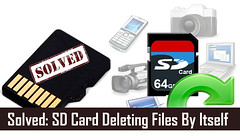 Solved: SD Card Deleting Files By Itself (Digital Media Recovery) Tags: files disappeared from sd card